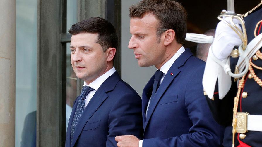 Отчет по Донбассу: Зеленский рассказал Макрону о выполненных обязательствах