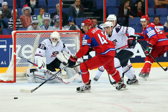 Сборная России встретится с американцами в Сочи 15 февраля