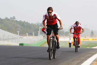 Если бы не «Формула 1», Фернандо Алонсо вполне мог сделать успешную карьеру в велогонках