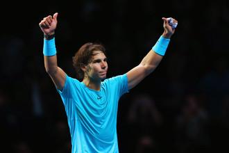 Испанец Рафаэль Надаль постарается подтвердить титул лучшего теннисиста мира