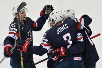 Сборная США только в овертайме смогла вырвать победу над Казахстаном на чемпионате мира по хоккею в Минске