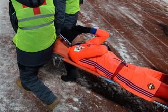 Защитник ЦСКА Березуцкий получил травму