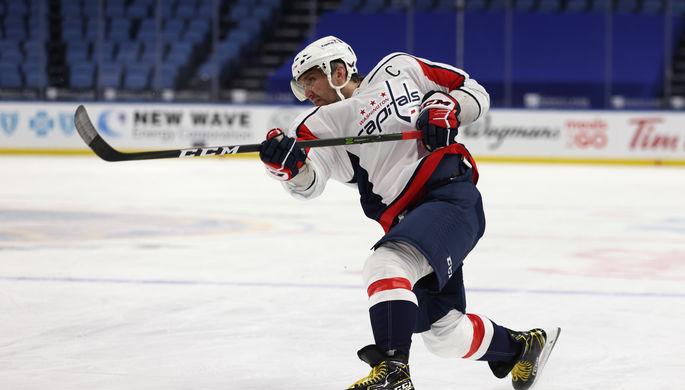 Александр Овечкин стал главным героем встречи с «Нью-Джерси»