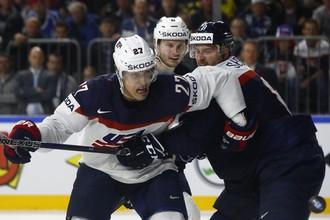 Сборная США встретилась с командой Словакии в матче группового этапа чемпионата мира по хоккею — 2017