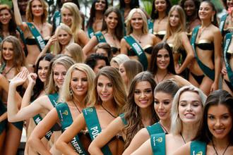 Участницы конкурса «Мисс Земля»