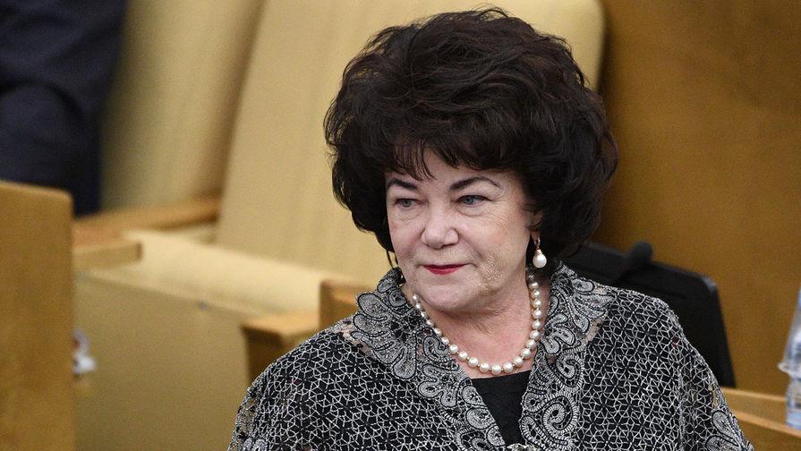 Председатель комитета Государственной Думы РФ Тамара Плетнева по вопросам семьи, женщин и детей