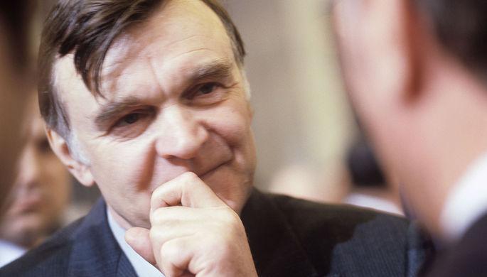 Писатель Юрий Бондарев на XXVI съезде КПСС, 1981 год