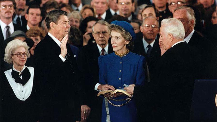 Инаугурация Рональда Рейгана в 1985 году