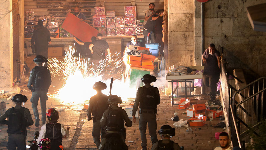 Беспорядки в районе мечети «Аль-Акса» на Храмовой горе в Иерусалиме, 9 мая 2021 года
