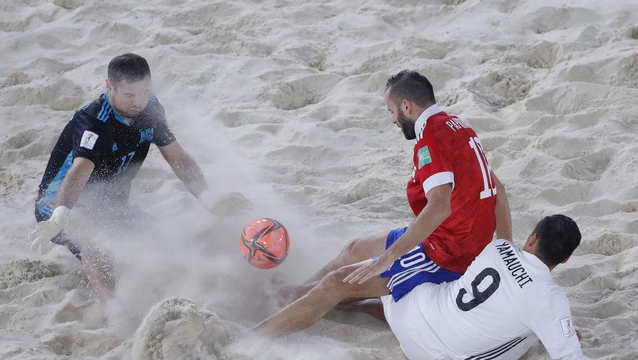 В Кремле восхитились победой сборной России на чемпионате мира по пляжному футболу