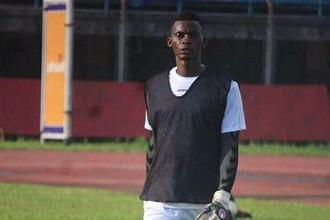 Вратарь сборной Сьерра-Леоне Альхаджи Дауда Конте