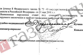 Выводы независимого судебно-медицинского исследования по медицинскому документу в отношении трупа шестилетнего Алексея Шимко, погибшего в ДТП