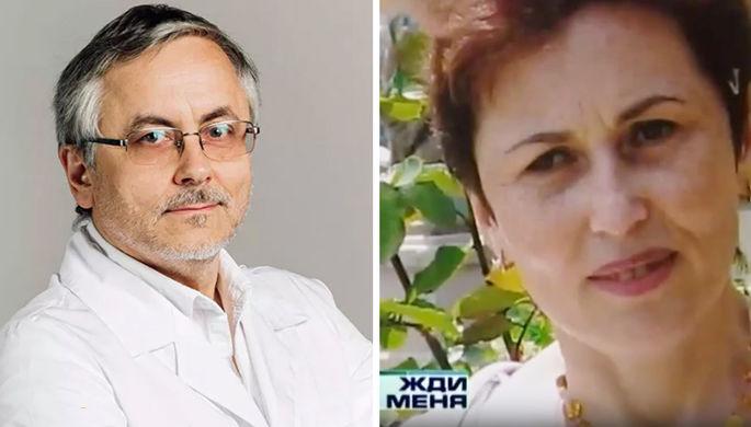 Главный нефролог Санкт-Петербурга Александр Земченков и его супруга (коллаж)