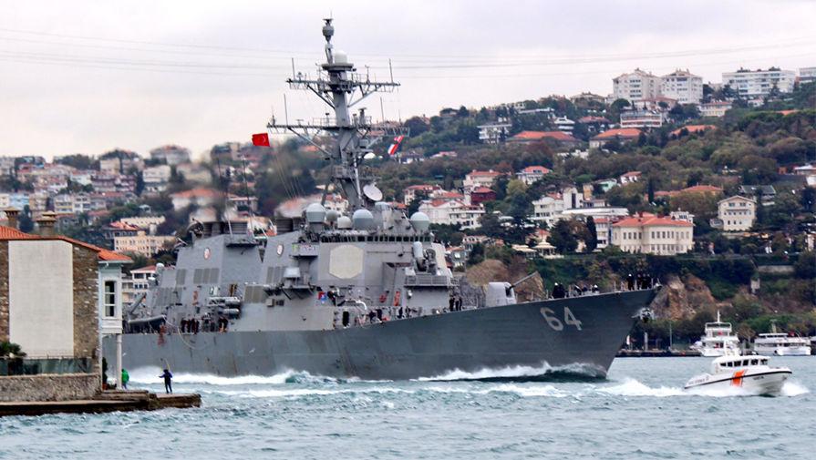 В США объяснили заход американского эсминца в Черное море