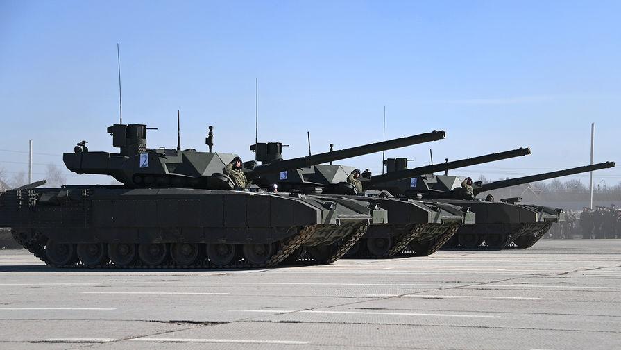 На танках «Армата» впервые появился туалет