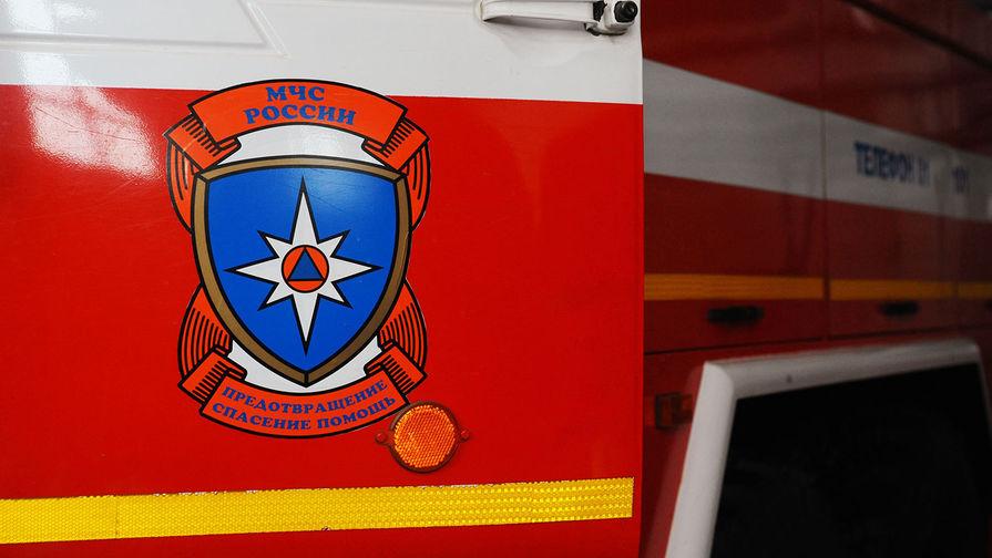 Пожар начался после взрыва на магистральном газопроводе в Оренбуржье