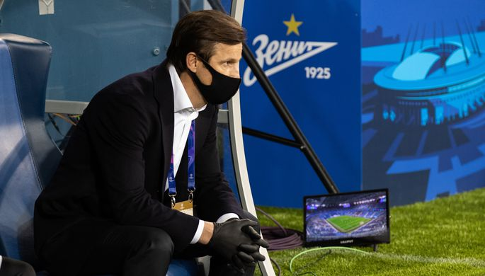 главный тренер «Зенита» Сергей Семак