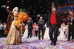 Рамзан Кадыров вГосударственном концертном зале города Грозного напраздновании 10-летия детского танцевального ансамбля «Даймохк», 2010год