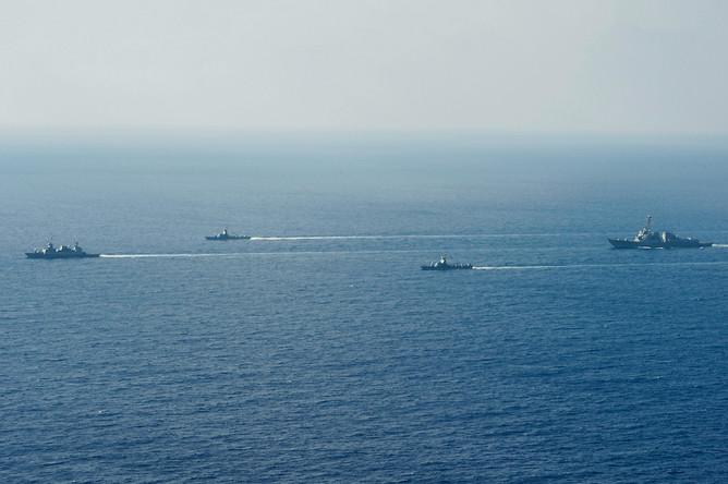 Корабли Шестого флота ВМС США в Средиземном море