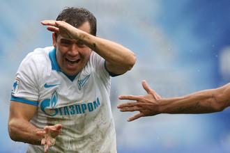 Александр Кержаков спас «Зенит» от поражения в матче с «Динамо»
