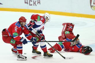 Проскуряков в воротах ЦСКА в понедельник не расслаблялся