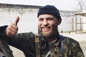 Александр Музычко во время Чеченской войны