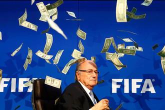 Президент Международной федерации футбола (ФИФА) Йозефа Блаттера
