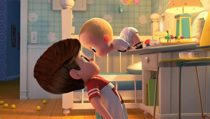 Кадр из мультфильма «Босс-молокосос» (2017)