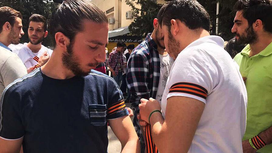 Картинки по запросу сирия георгиевские ленточки