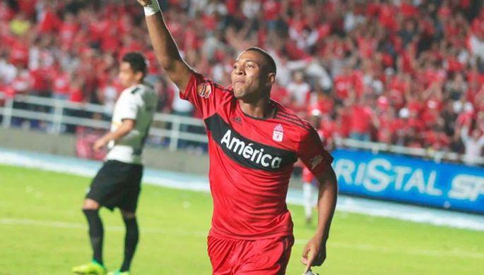 Колумбийский футболист Алехандро Пеньяранда