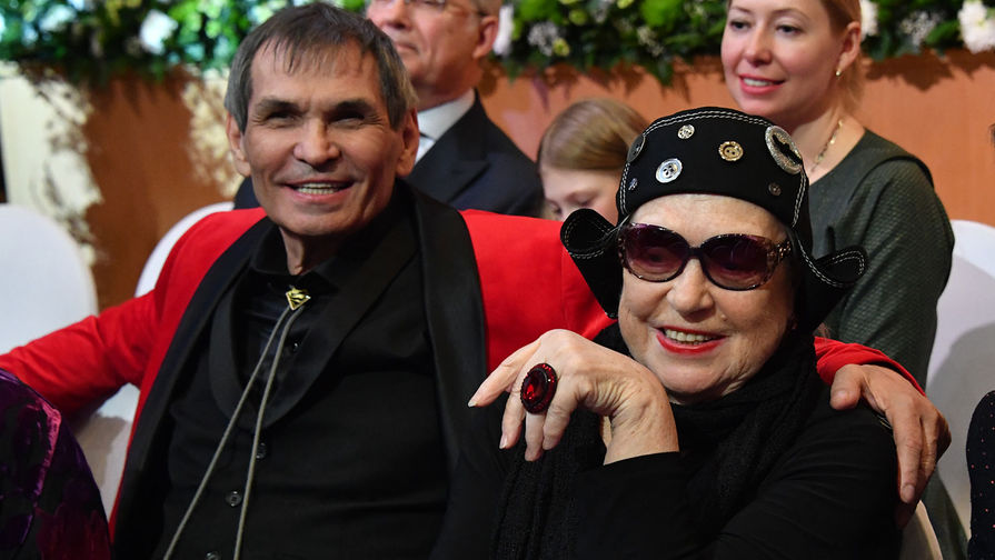 Лидия Федосеева-Шукшина и Бари Алибасов, 2018 год