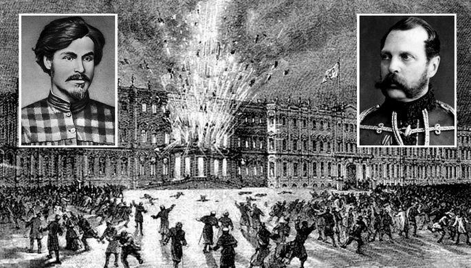 «К несчастью царь уцелел»: как Александра II взорвали в Зимнем