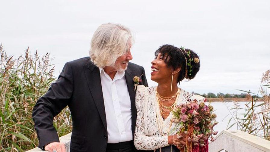78-летний лидер Pink Floyd Роджер Уотерс женился в пятый раз