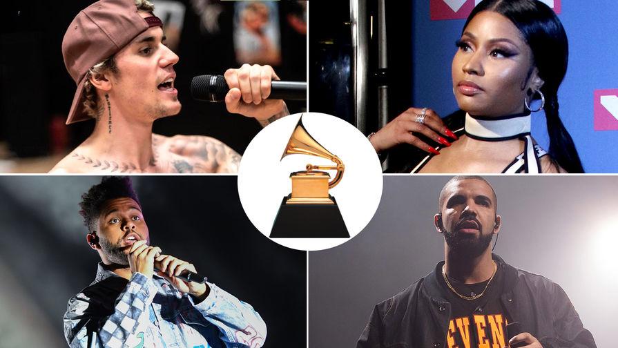 Джастин Бибер, Ники Минаж, The Weeknd и Дрейк