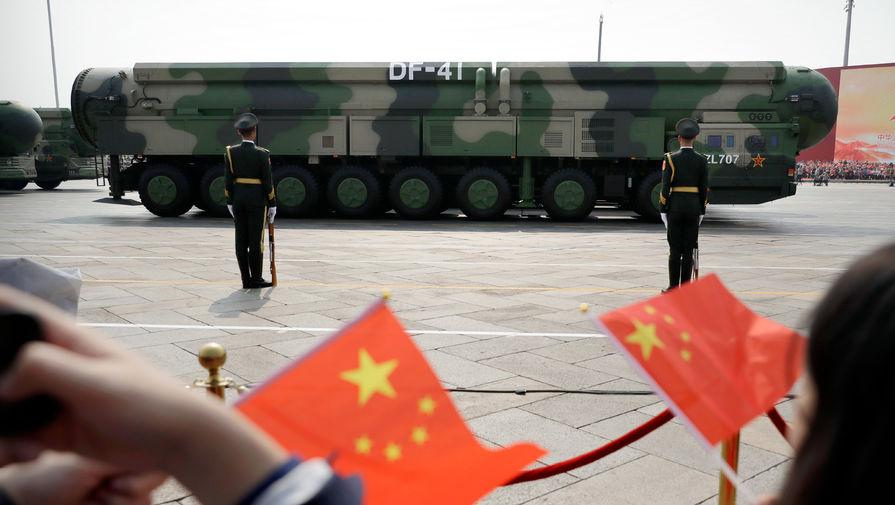 Эксперт рассказал, против кого вооружается Китай