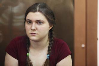 Анна Павликова в Дорогомиловском суде Москвы, 9 августа 2018 года