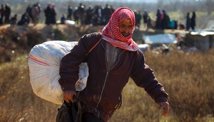 Они уже идут: Анкара «выпускает» беженцев в Евросоюз