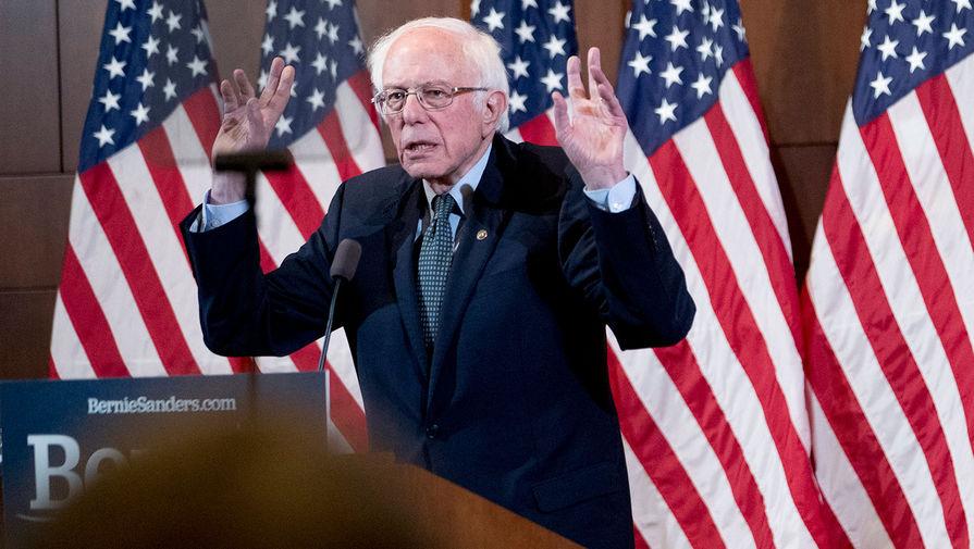 Штаб Сандерса счел ударом по демократии отмену праймериз в Нью-Йорке