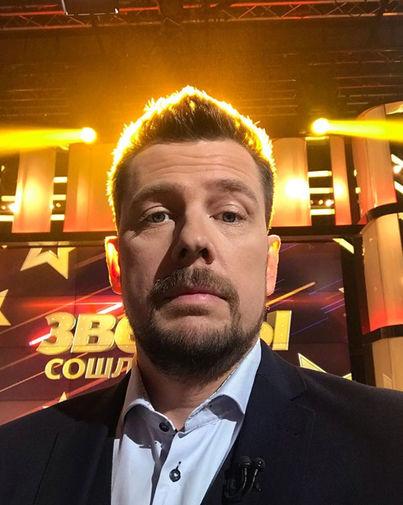 Александр Колтовой на съемках программы «ДНК»