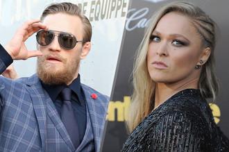 Две главных звезды UFC — Коннор Макгрегор и Ронда Роузи