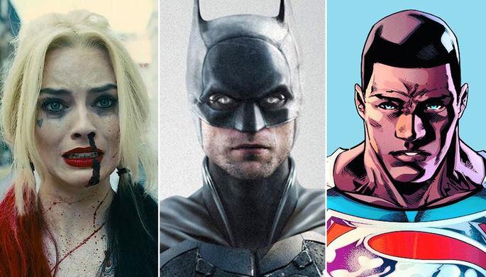 «Бэтмен» с Паттинсоном, темнокожий Супермен и «Отряд самоубийц» Ганна: все предстоящие фильмы DC