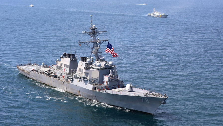 Турция уведомила РФ о проходе военных кораблей США в Черном море