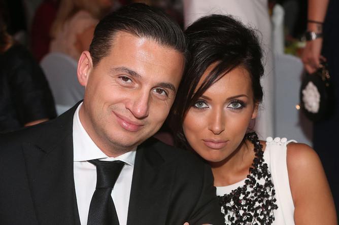Певица Алсу с супругом Яном Абрамовым, 2014 год