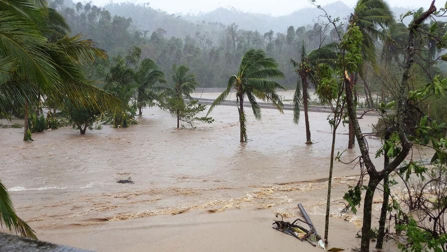 Последствия тайфуна «Гони» на Филиппинах, 1 ноября 2020 года