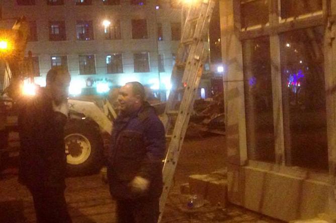 В Москве начали сносить «самострой»