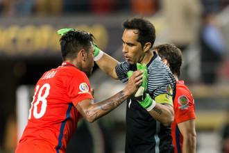 Сборная Чили разгромила Мексику в четвертьфинале Кубка Америки