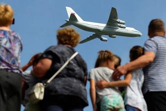 Тяжелый дальний транспортный самолет Ан-124 «Руслан»