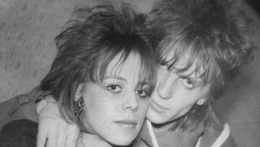 Ирина Салтыкова с мужем Виктором в молодости