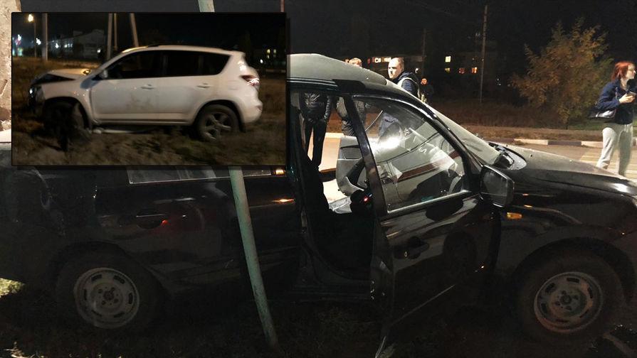 С пьяных глаз: судья после ДТП подпалил машину и сбежал