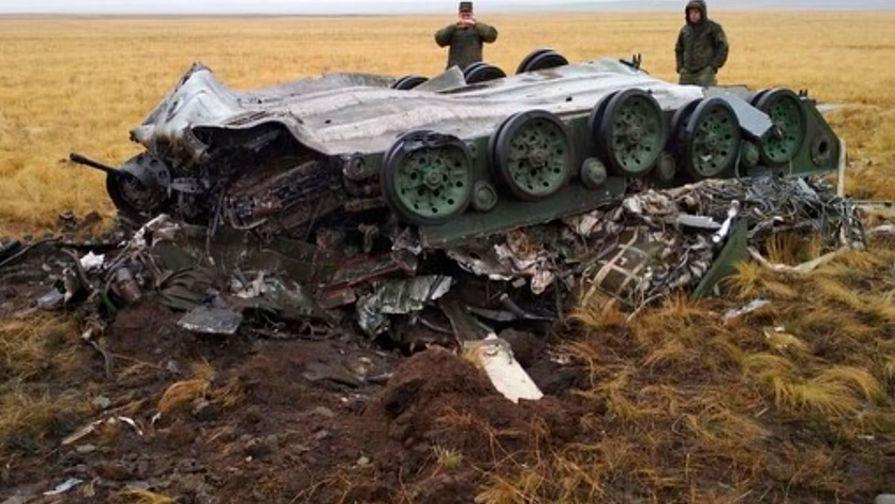 Отказал парашют: опубликованы снимки разбившихся бронемашин